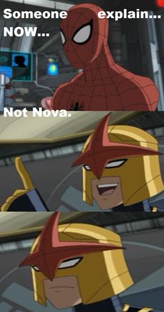 Marvel's Ultimate Spider-Man: Spider-Man/Peter Parker and Nova/Sam Alexander