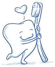Vetor: Cute cartoon tooth in love hugging his toothbrush. Hand drawn line art cartoon vector illustration. Dental Logo, Dental Art, Dental Humor, Teeth Drawing, Brush Drawing, Cartoon Drawings, Cartoon Art, Cute Cartoon, Space Drawings