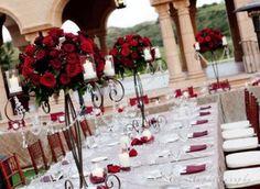 wedding centerpiece red roses  https://plus.google.com/108633761373774742055/posts   https://www.facebook.com/pages/Enchanted-Florist-of-Cape-Coral/360677213945822  https://twitter.com/WeddingsSWF http://pinterest.com/enchantedswf/enchanted-florists-weddings/ http://www.capecoralenchantedflorist.com