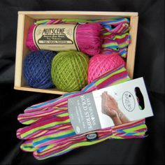 Garden Gift Set  – Funky Wooden Seed Tray Gift Set