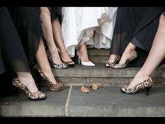 Leopard wedding shoes