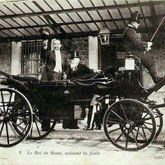 King Rama V in Paris during his first European tour of 1897    via: 2bangkok.com