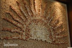 Cool picture of a sunny cork wall! – Papier verbasteln Cool picture of a sunny cork wall! Cool picture of a sunny cork wall! Wine Craft, Wine Cork Crafts, Wine Bottle Crafts, Bottle Art, Diy Cork, Wine Cork Projects, Wine Cork Art, Wine Bottle Corks, Bottle Candles