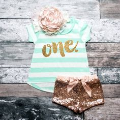 First Birthday Shirt Baby Girl Birthday Party Cake Smash Outfit 1st Birthday Shirt Gold One Shirt Girl First Birthday #98 by ShopVivaLaGlitter on Etsy https://www.etsy.com/listing/264841951/first-birthday-shirt-baby-girl-birthday