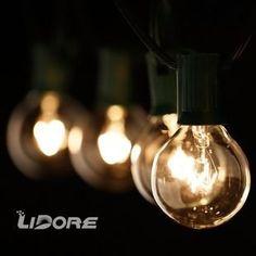 LIDORE G40 Globe bulb Patio String Light set. UL lsit. Cl... http://www.amazon.com/dp/B00OZIGOVC/ref=cm_sw_r_pi_dp_CM4uxb0MS1MJB