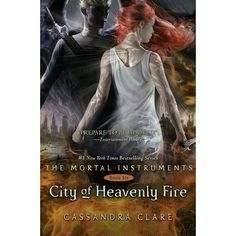 City of Heavenly Fire ❤ liked on Polyvore featuring books