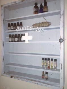 DIY Apothicaire Organized Essential Oils!