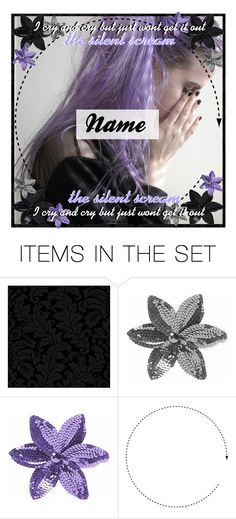 """♕ : Open Icon"" by exotic-demon-wolf ❤ liked on Polyvore featuring art, icon, silent, SilentScream, DemonCreations and StormIcons"