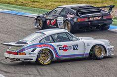 Porsche 911 & BMW M1 at Hockenheimring.