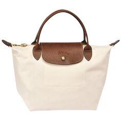 c06e696a986c8 LONGCHAMP LE PLIAGE SMALL HANDBAG ECRU - LONGCHAMP  LONGCHAMP  handbag  bag   women