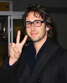 Josh Groban with glasses!!