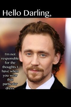 Tom Hiddleston - Hello Darling