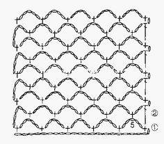 poncho-tejido-en-crochet-con-cuadros-1