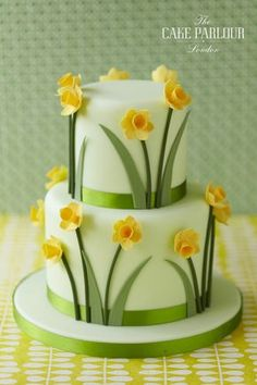 View our celebration cakes gallery with birthday cakes, christening cakes, engagements cakes, anniversary cakes and other novelty cakes. Pretty Cakes, Beautiful Cakes, Amazing Cakes, Beautiful Birthday Cakes, Simply Beautiful, Fondant Cakes, Cupcake Cakes, Shoe Cakes, Daffodil Cake