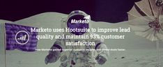 Marketo uses Hootsuite to improve lead quality and maintain customer satisfaction Customer Insight, Case Study, Social Media Marketing, Campaign, Management