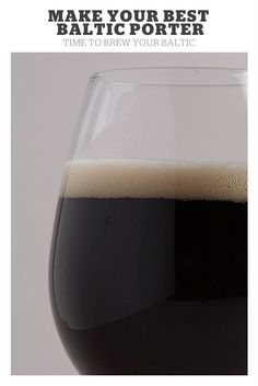 Make Your Best Baltic Porter