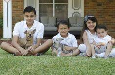 Ele havia adotado o cãozinho de um olho e se negou a abandoná-lo durante o resgate. A família Montez recebeu um telefonema que…