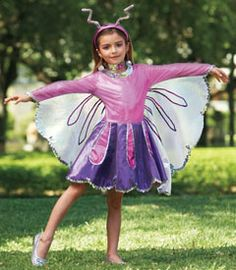 butterfly beauty costume  This site has the coolest costumes for the whole family.