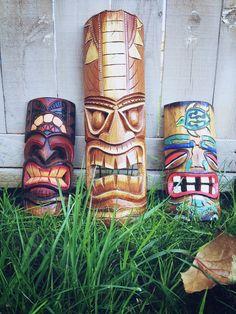 Hawaiian Tiki Mask by NomadicDingo on Etsy
