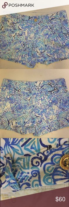 Lilly Pulitzer Callahan Shorts These Lilly shorts are perfect for any Lilly lover! These are in pristine condition and worn at the most three times. Not sold in stores!❤️ Lilly Pulitzer Shorts