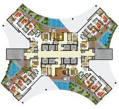 18 best hotel design program images architecture floor for Design hotel 4 stars