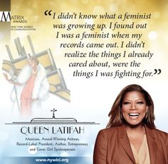 Queen Latifah, #Matrix14 Honoree, did not expect to be the success she is today, but she knew that it was possible.