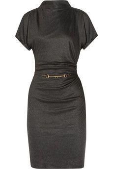 GucciDraped Belted Jersey Dress