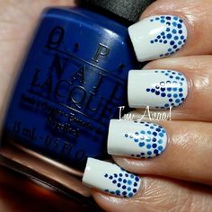 Looking for discount designer fashion? Come visit www.kpopcity.net today!!! Yellow daisy nail art. Stripes, polka dots and flower! Nail art, nail trends, summer nails, spring nails.