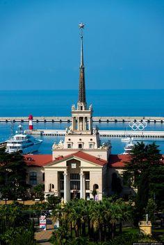 Marine Station of Sochi, Russia