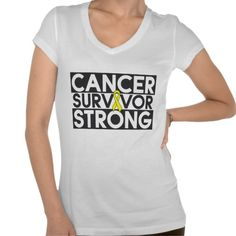 Sarcoma Cancer Survivor Strong T-shirts and Apparel created by cancerapparelgifts.com