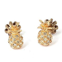 TSUBOMI Summer Crystal Gold Plated Pineapple Earrings TSU... https://www.amazon.com/dp/B01H2QFPS6/ref=cm_sw_r_pi_dp_gUWyxbAD33BTV