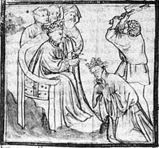 Chlodomer present at the execution of the Burgundian king Sigismund. Chlodomer was the (c. 495 - 524) was the second of the four sons of Clovis I, King of the Franks.