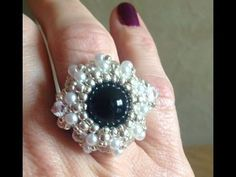 Pearl Wheel Ring Tutorial - YouTube