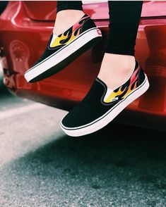 baskets femme vans slip on