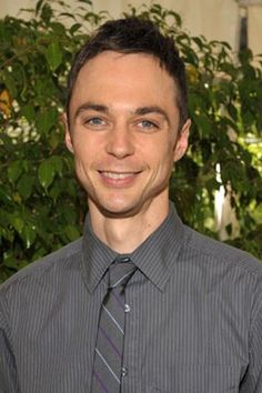 Jim Parsons. He's pretty cute when he's not Sheldon Cooper!
