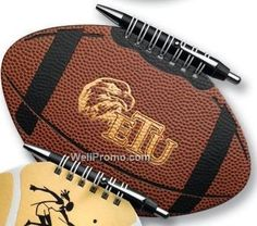 Football Sports Journal with Team logo
