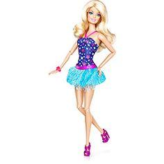 Boneca Barbie Fashionista 2012 - Vestido Roxo