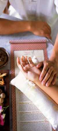 Traditional Chinese Medicine Conceptual Spa