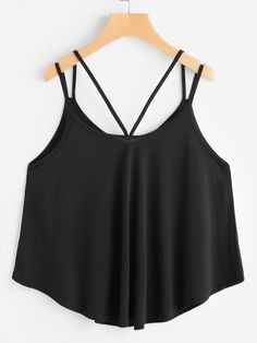 fbe8f81abf Strappy Cami Top Fashion Clothes