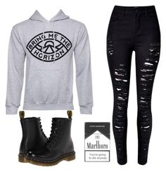 """""""Untitled #101"""" by xaalenaax ❤ liked on Polyvore featuring Dr. Martens, women's clothing, women, female, woman, misses and juniors"""