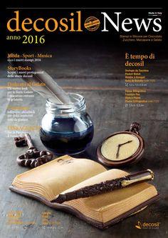 #decosil News 2016 - è tempo di decosil - la raccolta delle nuove proposte per il 2016 degli #stampi professionali 3D in silicone alimentare per #cioccolato, zucchero e gelato.