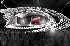 Eurovision 2015 stage in Vienna