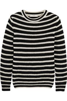 Shop for Shelton Striped Knitted Sweater by IRO at ShopStyle. Fall Capsule Wardrobe, Winter Wardrobe, Black Shelton, Larsson And Jennings Watch, Alexander Mcqueen Bracelet, Ag Jeans, Black Sweaters, Winter Outfits, Winter Clothes
