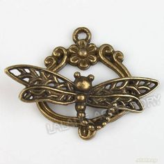 New Alloy Toggle Clasp Charms Wholesale Vintage Bronze Jewelry Findings | eBay