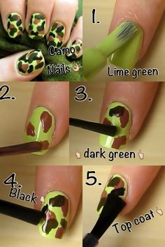 Pink camo amazing i need these my style pinterest pink diy camo nails no tools required solutioingenieria Gallery