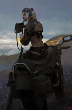 We Are Mercenary: Bike Recon by madspartan013 on deviantART