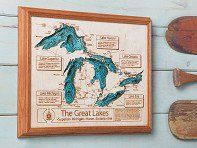 Custom-made maps and cribbage boards for commemorating that special lake in your life. Handcrafted in the USA.