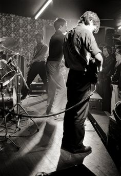 Joy Division at Manchester's Bowdon Vale Youth Club on 14 March 1979