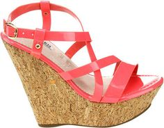WOMEN'S WESTBUITTI DAME-2 CORK WEDGE SANDAL - CORAL SANDALS  THE BEST! #UNIQUE SHOES Always Love this! Anyoneelse like it as much as i do? #FASHION #RAINBOW #CORAL