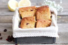 Gluten-Free Lemon Bars with Cranberries Recipe